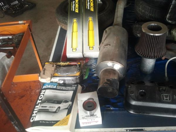 Misc Tools, Auto parts and 1987 CR125 dirtbike (Killeen, CC, HH)