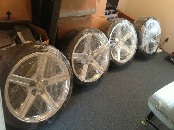 Rims and tires for sell - $1500