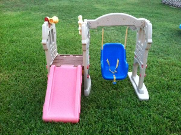 Little Tikes Swing Along Castle - $65 (West Temple)