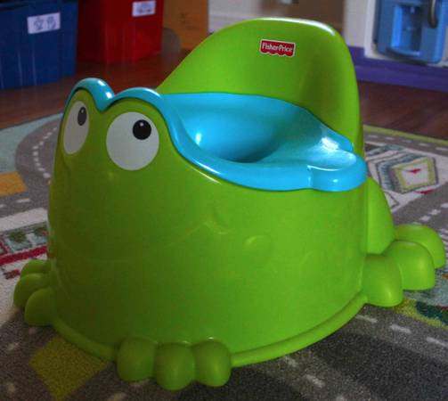 Fisher-Price Frog Potty -   x0024 5  Killeen