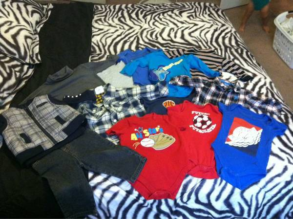 Baby Boy Clothes 6-9 Months - $15 (Copperas Cove)