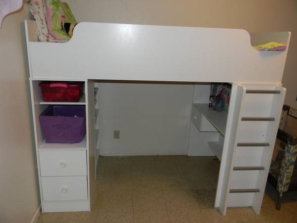 Wayfair loft bed - $400 (Comanche III Fort hood)