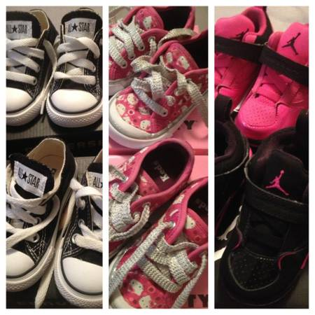 Baby Girl Shoes- Converse, Keds Jordan - $10 (Temple)