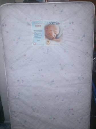 BARELY USED Kolcraft Pediatric 800 Crib Mattress - $20 (Copperas Cove)