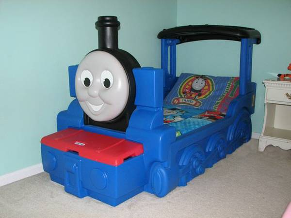 Thomas the Train Toddler Bed - $250 (Copperas Cove)
