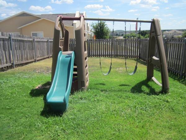 Step 2 Naturally Playful Playhouse Climber wslide - $225 (Fort HoodComanche III)