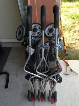 Jeep double umbrella stroller - $30 (Harker Heights)