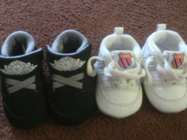 2 NAME BRAND INFANT SHOES - $50 (COPPERAS COVE)
