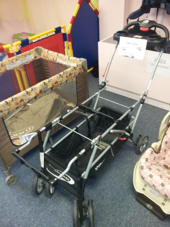 TWINS Double Snap N Go Stroller Frame - $50 (Harker Heights)