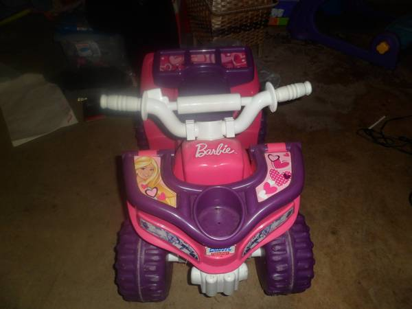 power wheels barbie quad - $40 (killeen)
