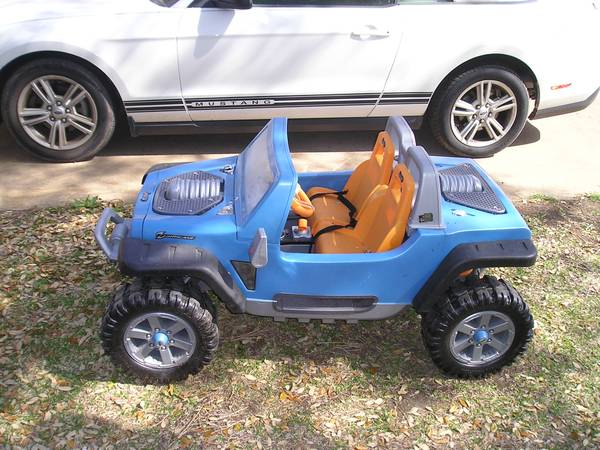 12 Volt battery powered Power Wheels Jeep Hurricane works, nice big - $125 (Temple Tx)