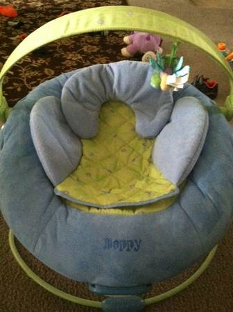 Boppy Cradle in Comfort Bouncer - $40 (Belton)