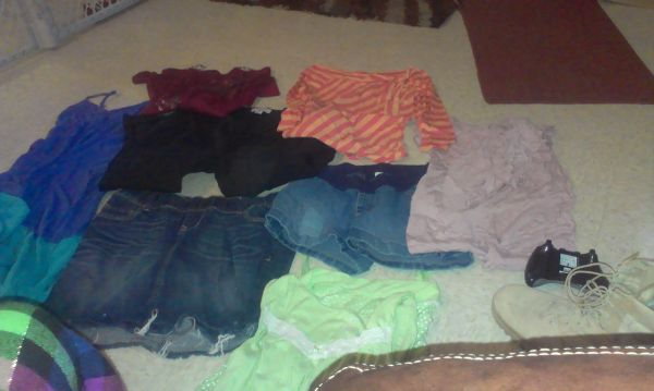maternity clothes size small - $60 (fort hood)