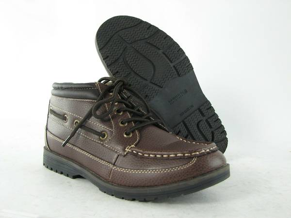 NWOB BOY TODDLER 8.5 10 SPERRY BOOTS (KILLEEN 76543)