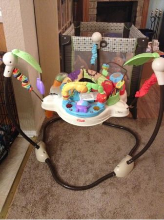 Swings, bassinet, boppy, Jumparoo and more (Florence)