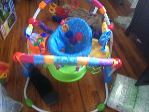 Baby Einstein bouncer - $50 (Fort hood)