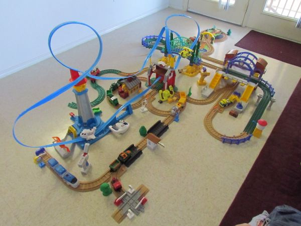 GeoTrax Trains Lot - REDUCED $225 (West Fort Hood)