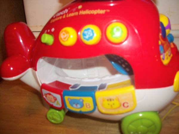 Vtech Go Go Smart Wheels Learning Car - Helicopter - $12 (HARKER HEIGHTS)