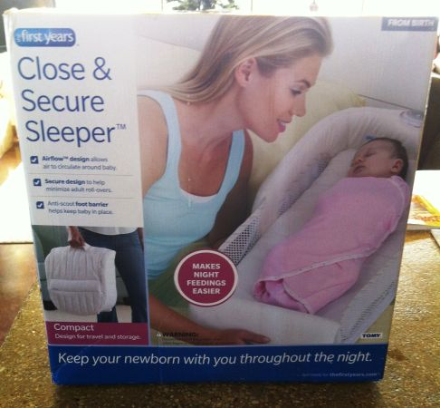 First Years Close  Secure Sleeper Co Sleeper - $30 (Killeen)
