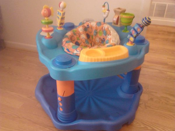 Evenflo Splash Mega ExerSaucer - $40 (Copperas Cove)