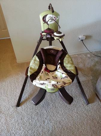 Zen Collection baby swing - $100 (Copperas Cove)