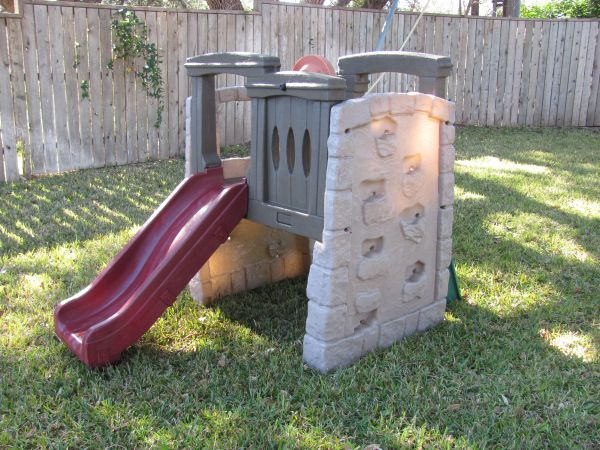 Outdoor Step 2 Woodland Climber with Slide - $80 (Harker Heights)