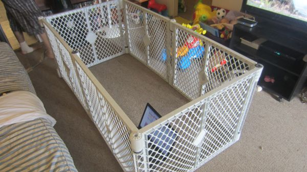 Baby Walker and Playpen - $1 (Temple)