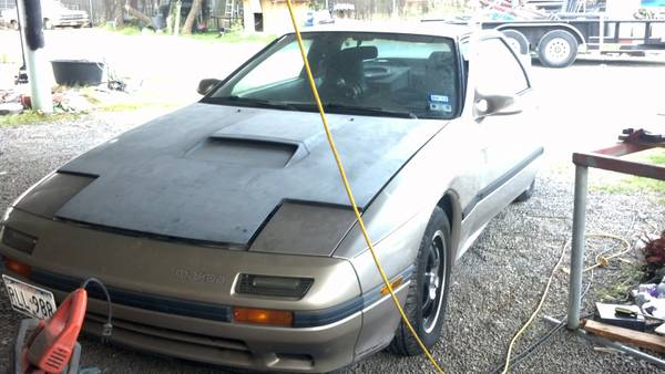 87 Rx7 FC TurboII project w extra parts car  - $2000 (Killeen,Copperas Cove)