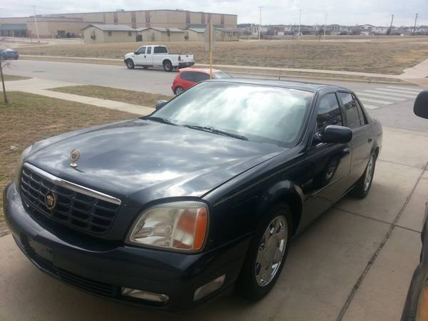 2002 Cadillac Deville navigation leather automatic - open to trades - x00243200 (Killeen)