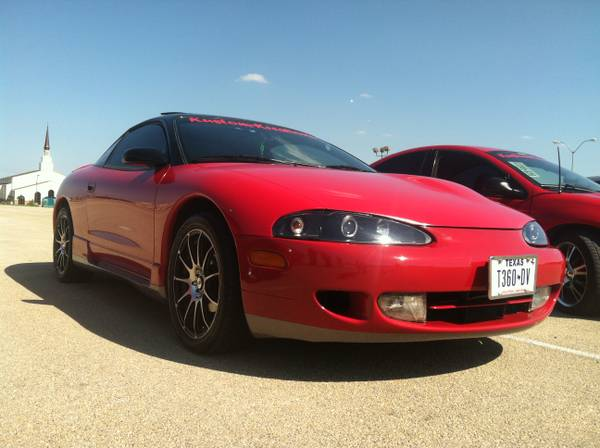 1995 MITSUBISHI ECLIPSE GST (TURBO) - $4500 (COPPERAS COVE, TX)