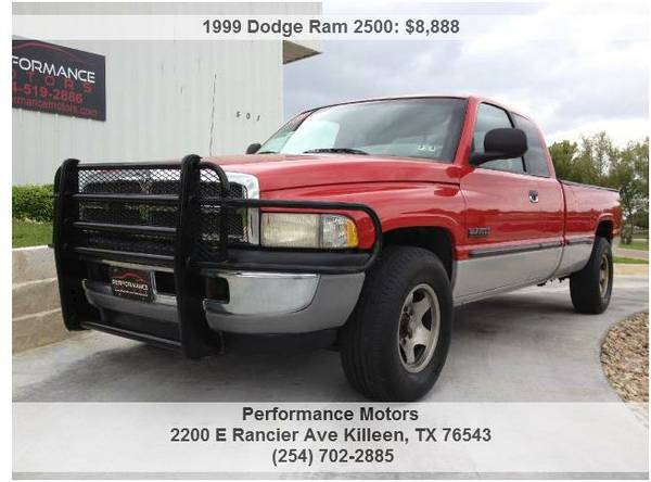 Older Dodge Ram Diesel 2500 (KilleenFort Hood)