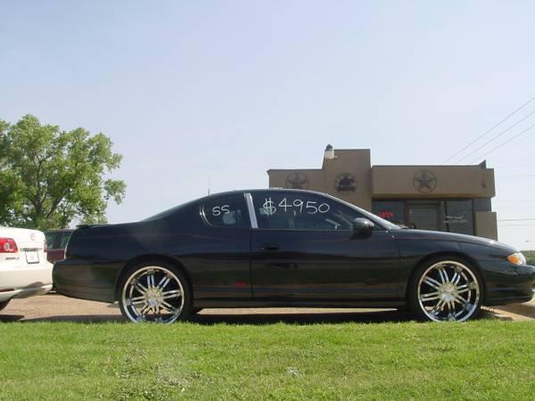 NICE 2002 SS MONTE CARLO NEW 22 INCH RIMS AND TIRES - $4700 (TEMPLE )