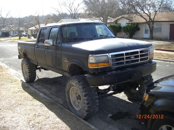 lifted f350 (Cove)