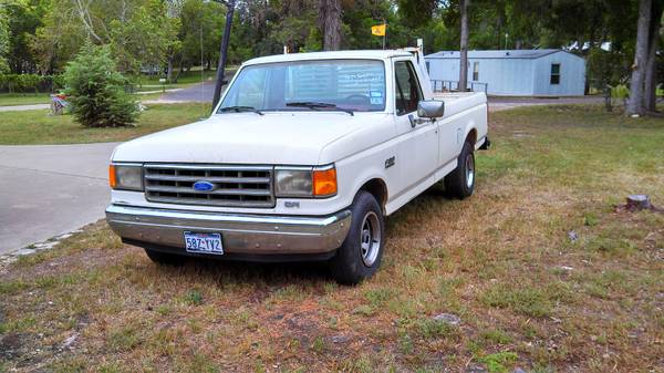 1989 Ford F-150 pickup truck - $1950 (Near Belton Dam)