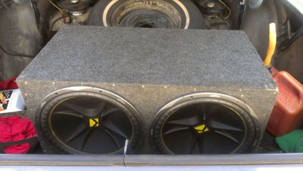 2 15in. kicker comp. speakers and  - $350 (Temple Tx)