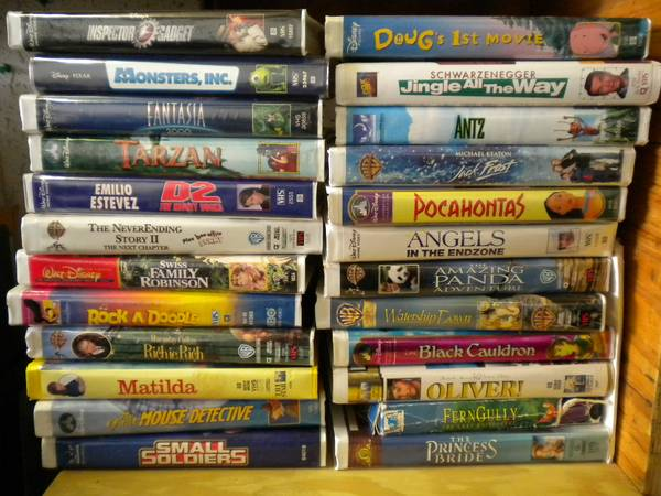 50 Childrens VHS tapes Disney Pixar - x002450 (Copperas Cove)