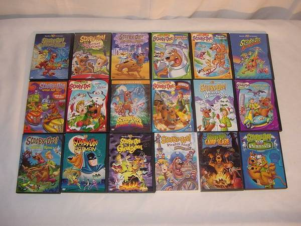 29 SCOOBY DOO SHAGGY CHILDRENS DVD DVDS MOVIE LOT - $30 (Fort Hood)