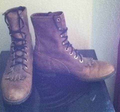 Justin Roper Lace-up Boots - $35 (Copperas Cove)