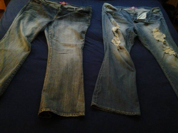 size 24W womens jeans 2 pairs pure energy target - $30 (Killeen TX)