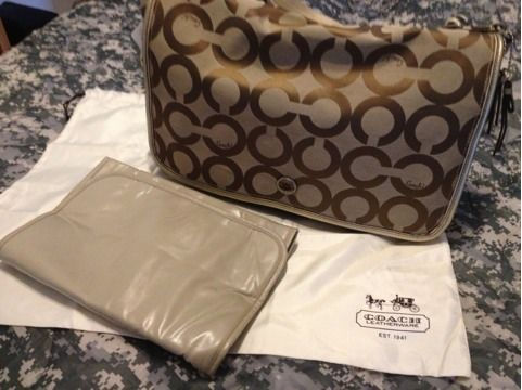 COACH DiApEr Bag authentic COACH store - $200 (Ft hood Killeen area)