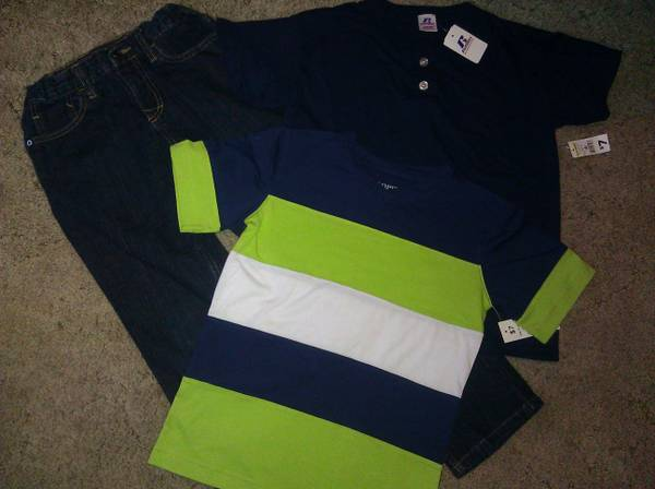 Boys Tony Hawk Jeans  2 shirts (size 810) - $15 (Killeen)