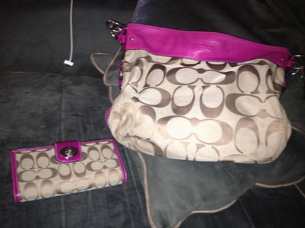 Coach purse and wallet - $150 (Temple)