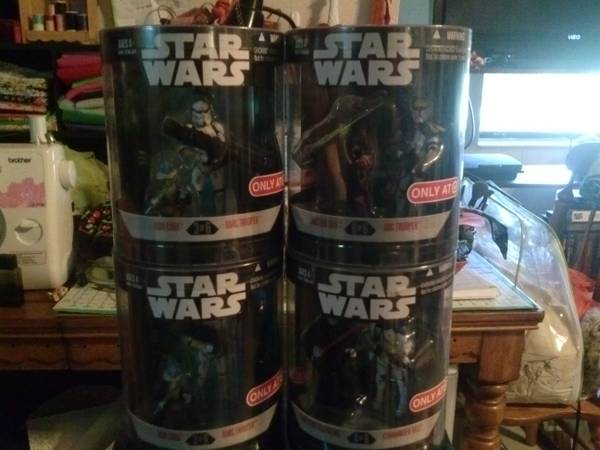 Star Wars Target Exclusive Order 66 mini figures - $35 (Copperas Cove)