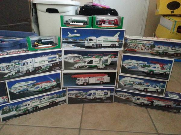 Hess truck collection - $200 (killeen)