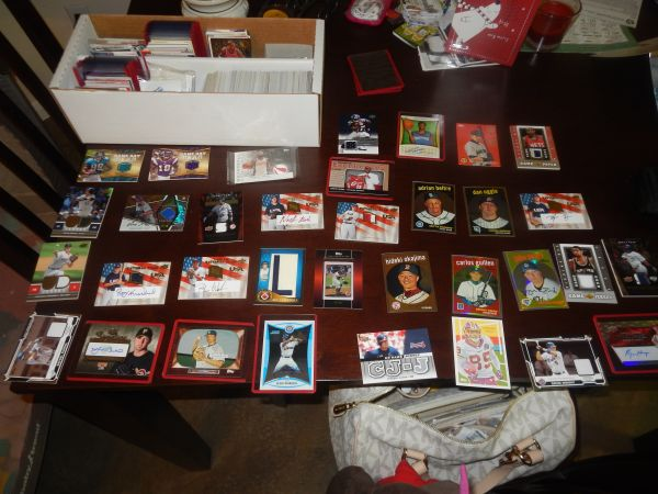 Autographed and Insert Sports Cards - $250 (Killeen)