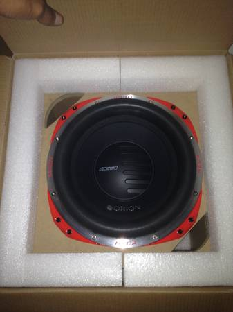 2 Orion HCCA black coil series 12 inch subs - $500 (Killeen)