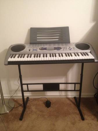 Casio lk-44 keyboard stand - $100 (Fort hood, killeen, copperas cove)