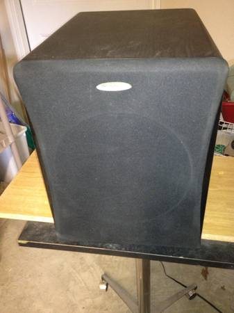 velodyne vrp-10 powered subwoofer - $50 (Harker Heights)