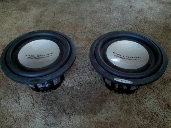 DB Drive Platinum 12 Subwoofers - $75 (Killeen)