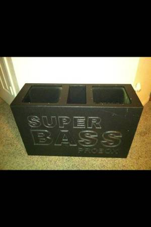 Super bass probox-speaker box - $75 (Temple)